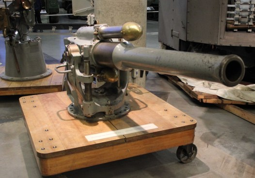 Krupp 8.8 cm 30 calibre quick-firing deck gun, no. 1972, produced 1916