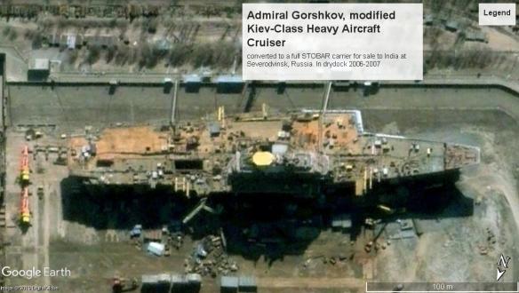 Admiral Gorshkov Kiev Class Severodvinsk 2006