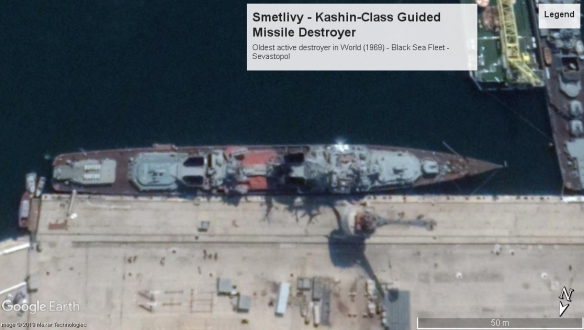 Smetlivy Kashin Class DD Sevastopol 2017