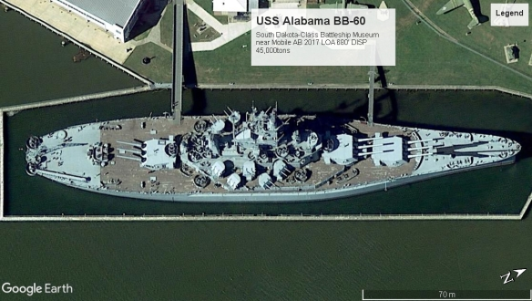 USS Alabama BB-60 MobileAB
