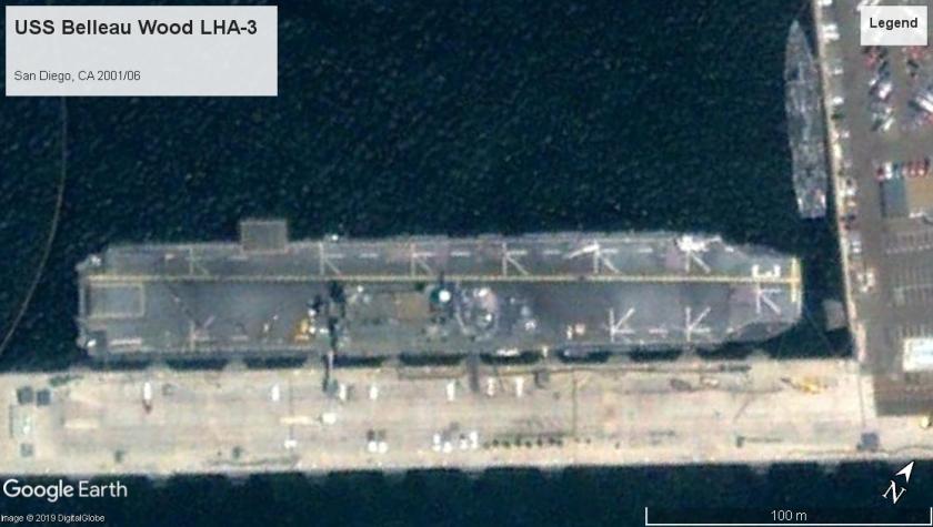 USS Belleau Wood LHA-3 San Diego 2001