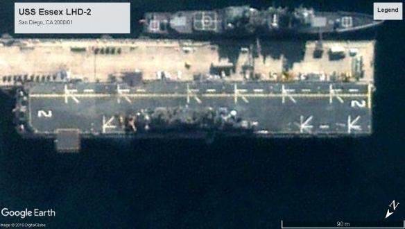 USS Essex LHD-2 San Diego 2000