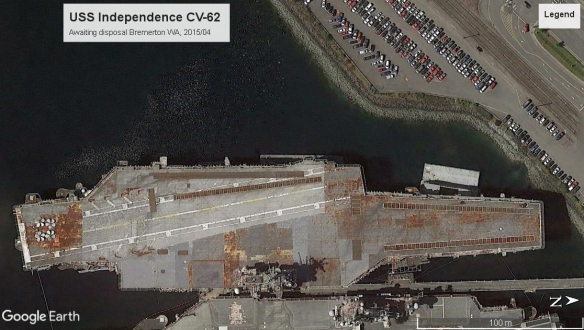 USS Independence CV-62 Bremerton 2015
