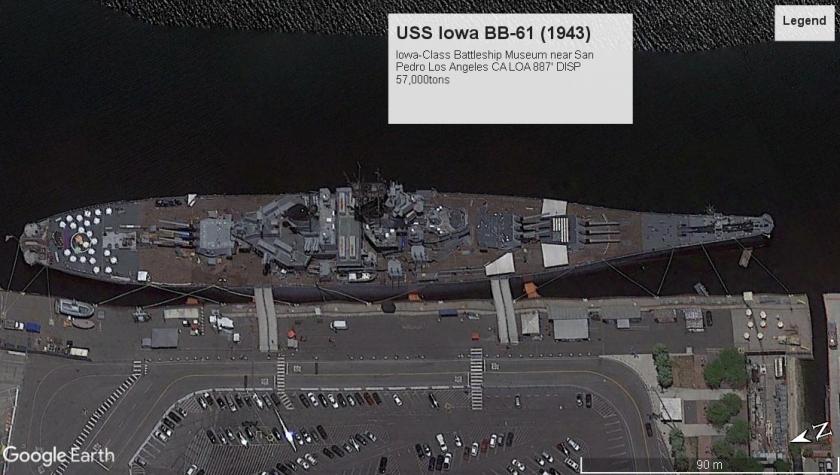 USS Iowa BB-61 SanPedroCA