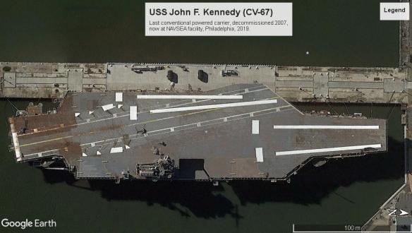 USS JFK Philedelphia 2019