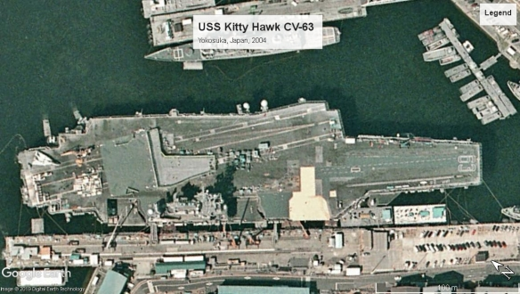 USS Kitty Hawk Yokosuka 2004