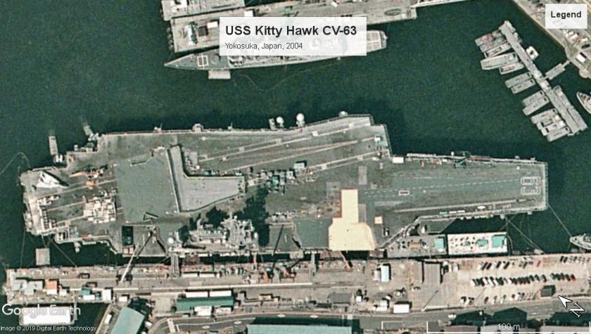 USS Kitty Hawk Yokosuka 2004