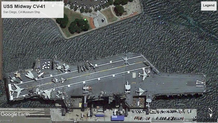 USS Midway CV-41 San Diego