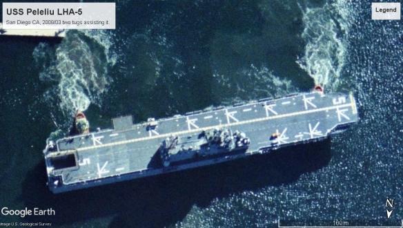 USS Peleliu LHA-5 San Diego 2008