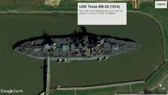 USS Texas BB-35 SanJacintoTX