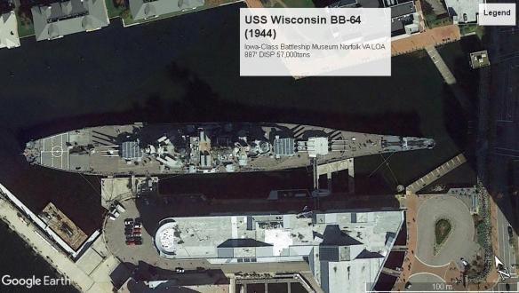 USS Wisconsin BB-64 NorfolkVA