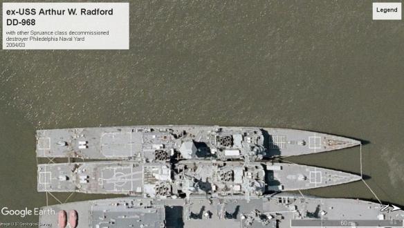 ex-USS Arthur W Radford DD968 Philedelphia PA 2004.jpg