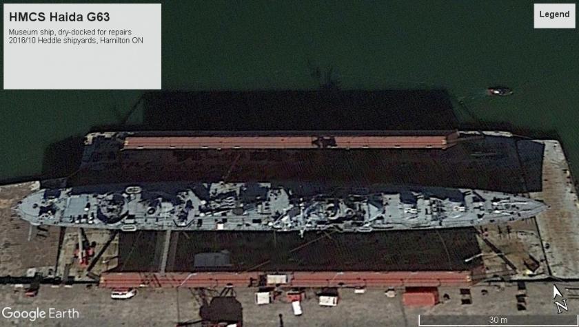 HMCS Haida Hamilton 2016