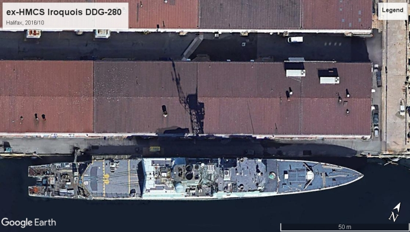 HMCS Iroquois DDG-280 Halifax 2016
