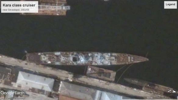 Kara class cruiser sevastopol 2002