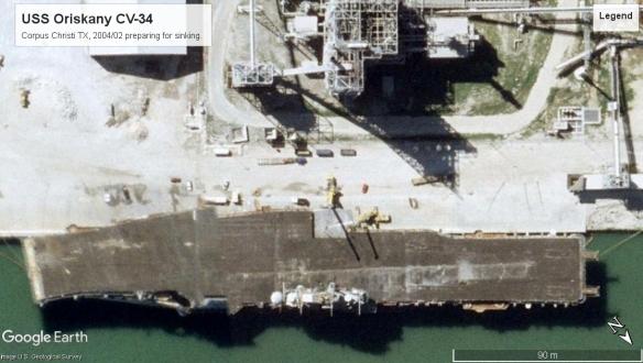 USS Oriskany CV-34 Corpus Christi TX 2004