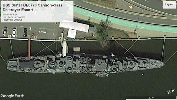 USS Slater Cannon-class DE Albany 2018.jpg