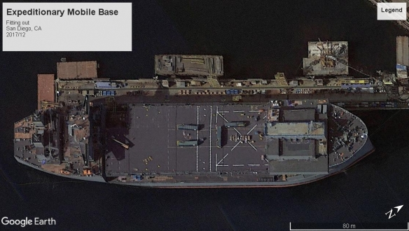 Expeditionary Mobile Base San Diego 2017