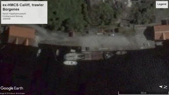 HMCS Cailiff Isles Class trawler 2004 norway