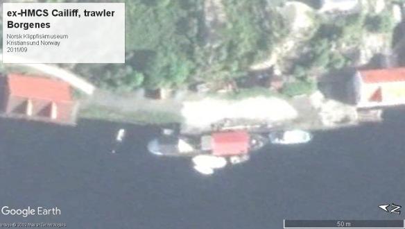 HMCS Cailiff Isles Class trawler 2011 norway