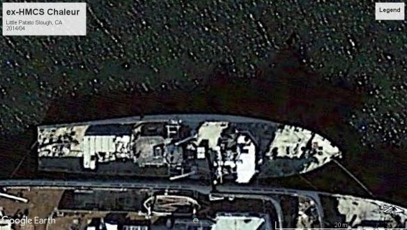 HMCS Chaleur CA 2014