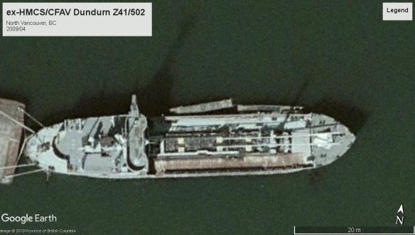 HMCS Dundurn tanker North VAN 2009