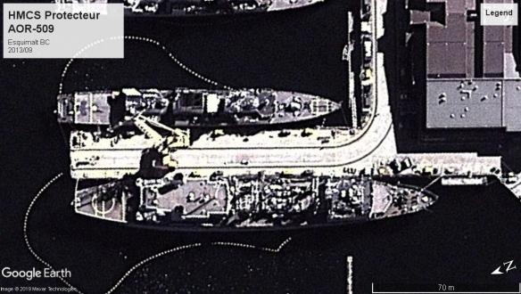 HMCS Protecteur Esquimalt 2013