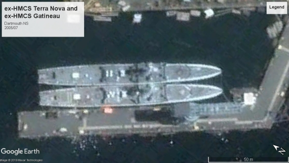 HMCS Terra Nova and Gatineau Dartmouth 2005.jpg