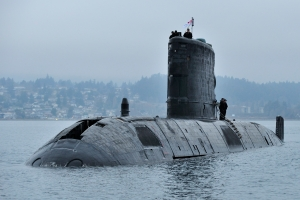 HMCS VICTORIA at Sea