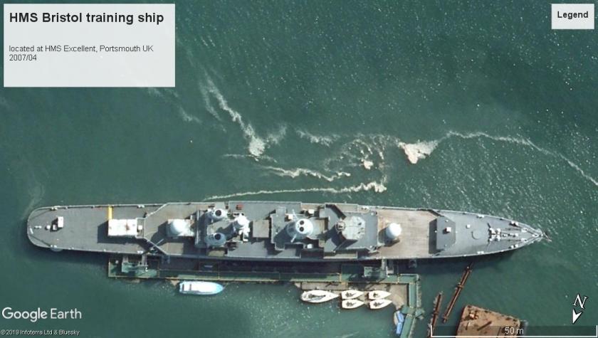 HMS Bristol Portsmouth 2007