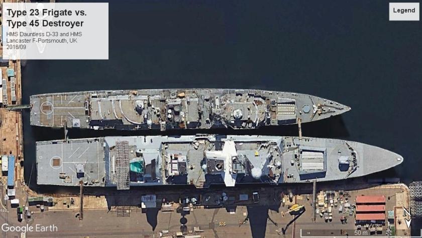 HMS Lancaster vs. HMS Dauntless Portsmouth 2018.jpg