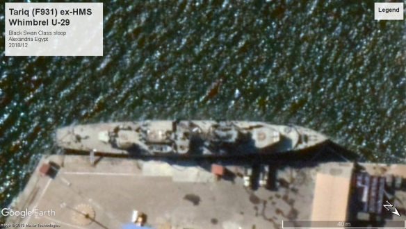 HMS Whimbrel U-29 Alexandria Egypt 2018