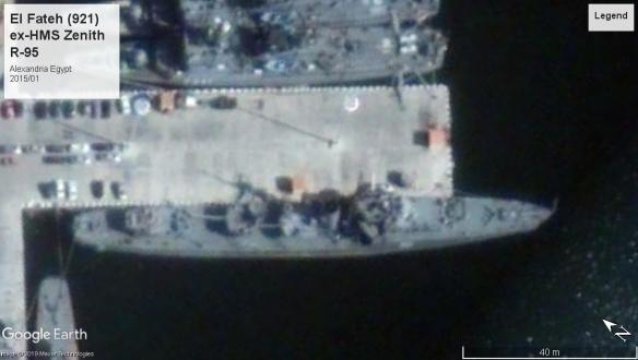 HMS Zenith Alexandria 2015