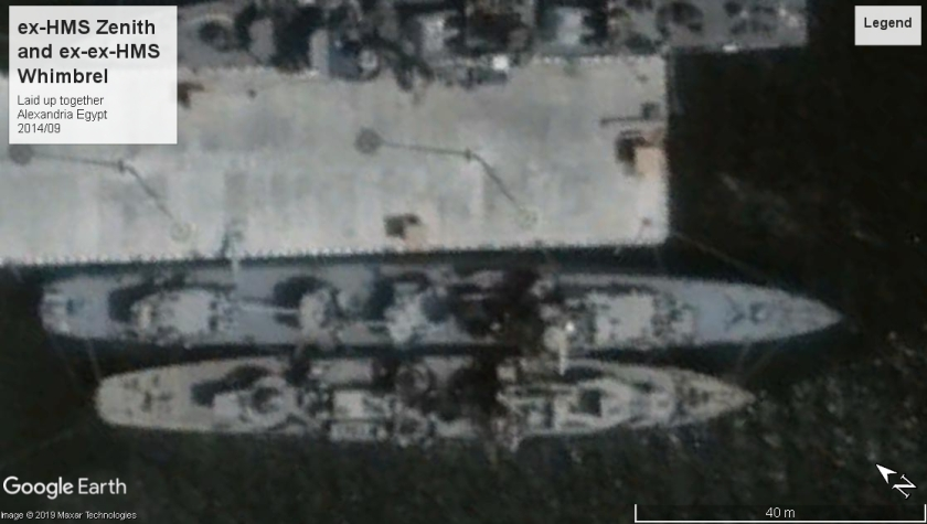 HMS Zenith and HMS Whimbrel 2014