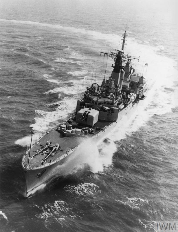 SHIPS OF THE ROYAL NAVY 1945-1989