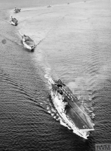 EXERCISE SEA ENTERPRISE. SEPTEMBER 1955, ON BOARD THE CARRIER HMS BULWARK, DURING NATO EXERCISE SEA ENTERPRISE IN NORTHERN WATERS.