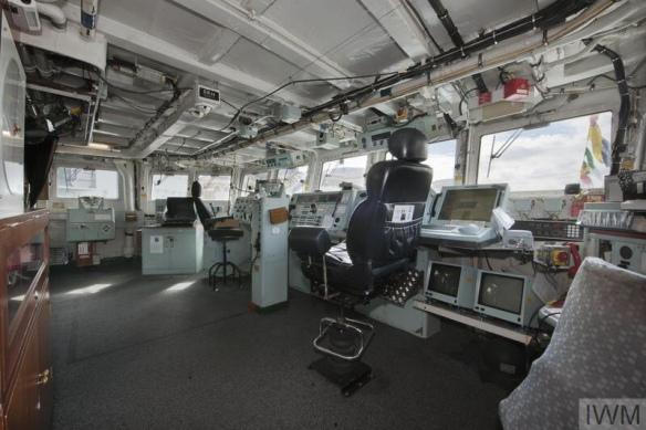 HMS EDINBURGH AT DECOMMISSIONING, MAY 2013