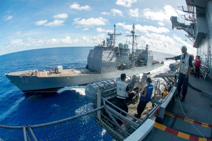 USS Ronald Reagan Underway Bridge Watches