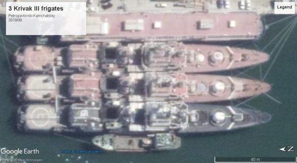 Krivak III frigates Petropavlovsk-Kamchatskiy 2018