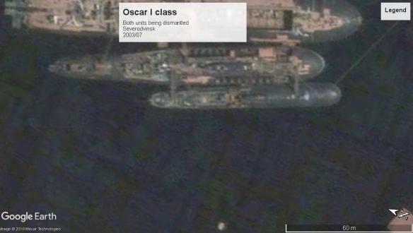 Oscar I scrapping Severodvinsk 2003