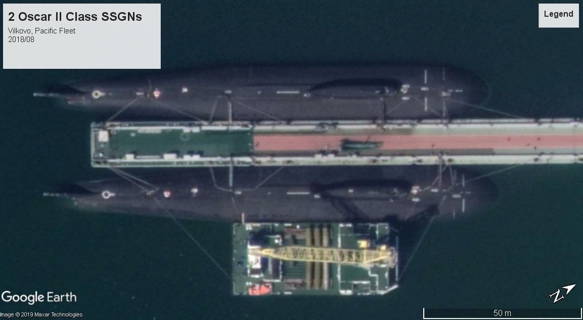 Oscar II Pacific Fleet 2018 test