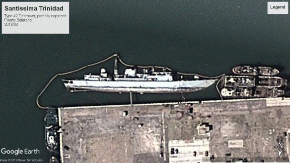 Santissima Trinidad Puerto Belgrano ARG 2013