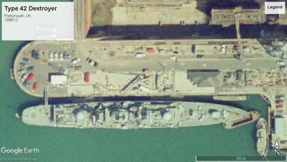 Type 42 Destroyer Portsmouth 1999