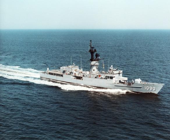USS Ainsworth Knox class DN-SC-86-00518