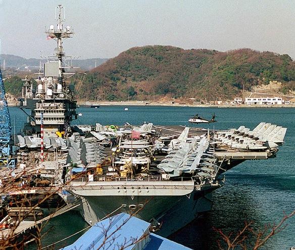 USS Independence Yokosuka DN-SD-01-03497