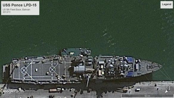 USS Ponce Bahrain 2012