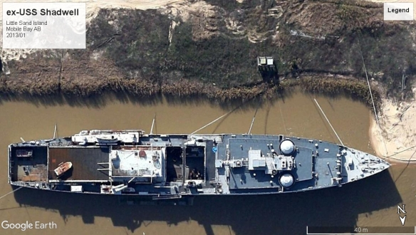USS Shadwell Mobile AB 2013