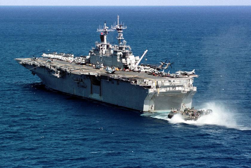 USS Wasp NARA