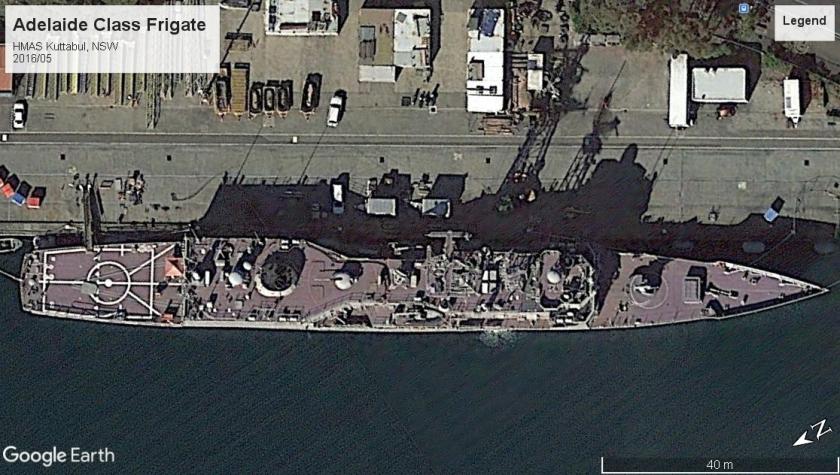 Adelaide Class FFG NSW HMAS Kuttabul 2016