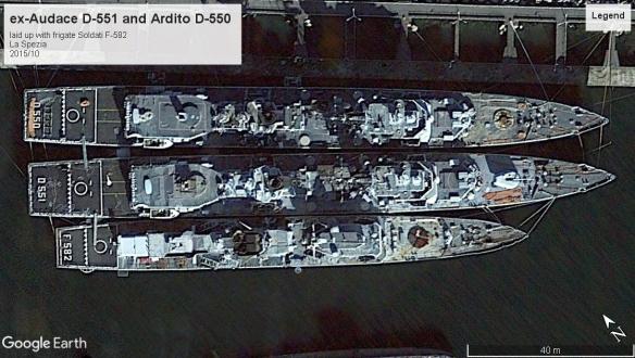 Audace Class DD La Spezia 2015